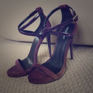 "Purple 5"" Heels"
